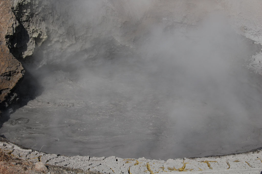 Mud Volcano in Yellowstone National Park